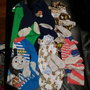 18 month fleece sleeper bundle